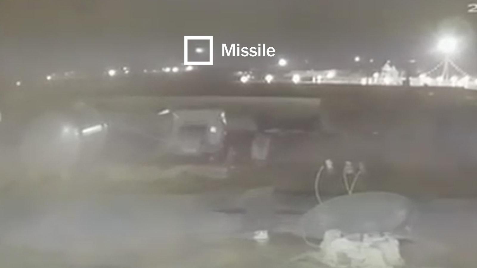 სენსაციური ვიდეო  კადრები- ირანმა უკრაინული ავიალანერის ჩამოსაგდებად ორი ანტისაჰაერო რაკეტა გაისროლა – NEW YORK TIMES