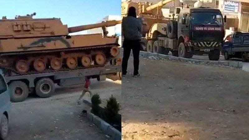 """თურქეთმა იდლიბში """"სადამკვირვებლო პუნქტებთან მძიმე სამხედრო ტექნიკა და შორსმსროლელი არტილერია გადაისროლა."""