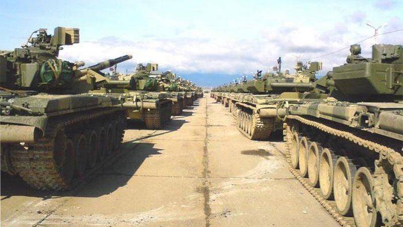 რუსებს აფხაზეთიდან T-90A ტანკები მოდერნიზაცისათვის გააქვთ და მათ ნაცვლად T-72B3 ტიპის ტანკები შემოაქვთ.