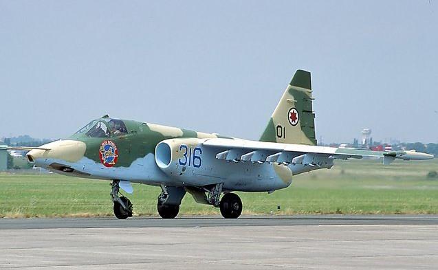 2008 წლის  8 აგვისტო  საქართველოს სამხედრო საჰაერო ძალების Cy-25  მოიერიშე თვითფრინავი აგრესორების დასაბომბად აფრინდა. ვიდეო