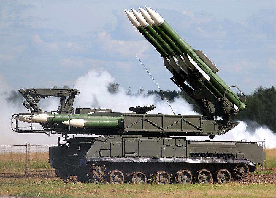 რუსული «Бук»  ტიპის საზენიტო სარაკეტო  კომპლექსები დაიცავს ჰაფთარის საჰაერო ბაზას თურქული F-16 საგან.
