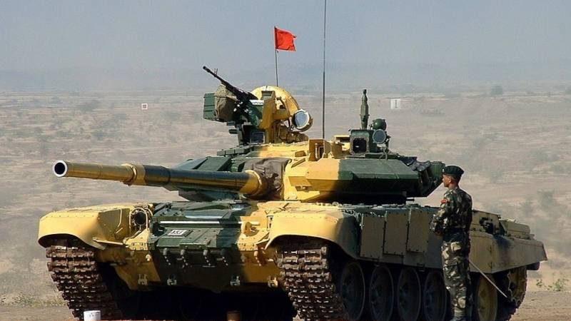 ჩინური ტანკები ინდოეთის წინააღმდეგ.