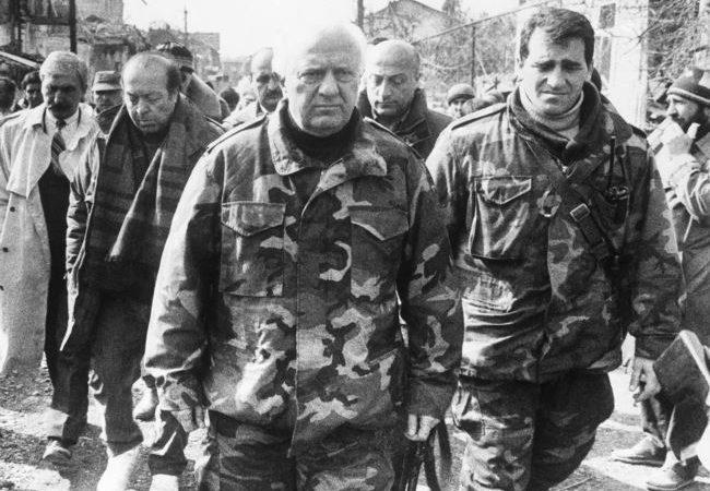 ედუარდ შევარდნაძე რუსეთის როლსა და ფაქტორზე აფხაზეთის კონფლიქტის დროს და შემდგომ. 1996 წელი. ვიდეო