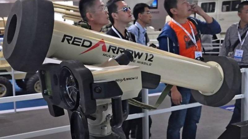 """ამერიკული """"ჯაველინის""""  ჩინური ასლი HJ-12 Red Arrow ალჟირმა იყიდა."""