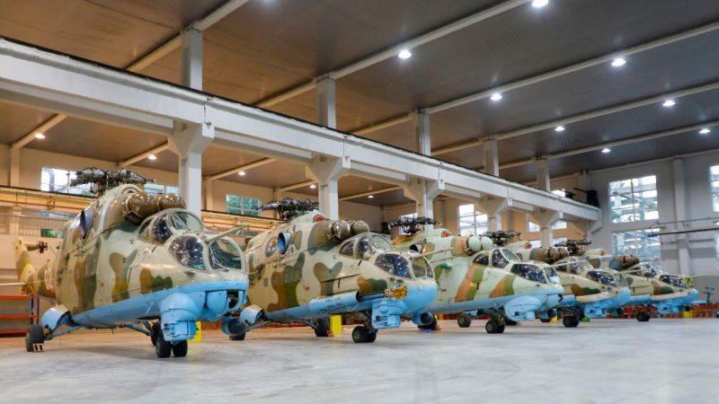 თავდაცვის ძალების კუთვნილი МИ-24 ტიპის საბრძოლო  შვეულმფრენები კაპიტალურად გარემონტდება.