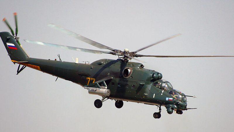 გამოქვეყნდა აზერბაიჯანული  Ми-35 საბრძოლო შვეულფრენის  ყარაბახში სომხების  პოზიციებზე მუშაობის ვიდეო.