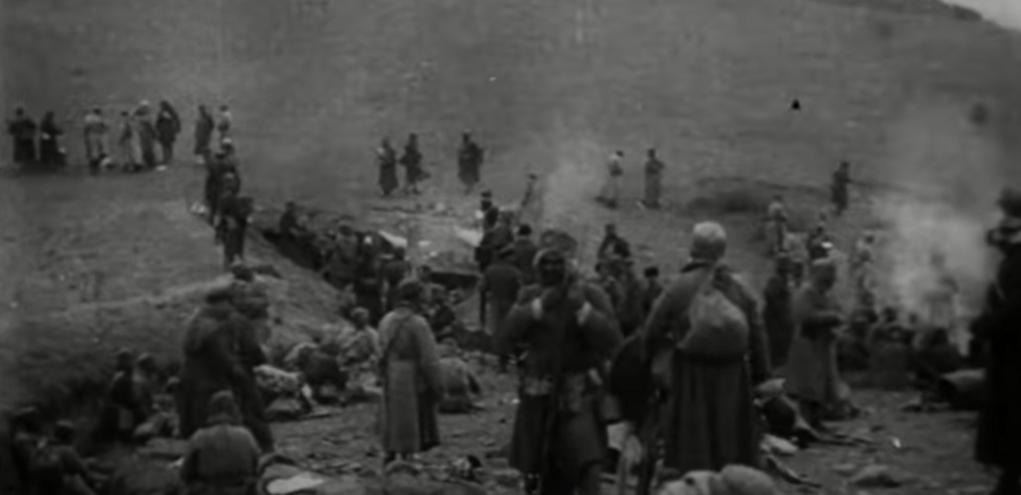 22 თებერვალი, 1921: გენშტაბი: მტერი უკუვაქციეთ, ხელთ ვიგდეთ ტყვეები, 8 ტყვიამფრქვევი.