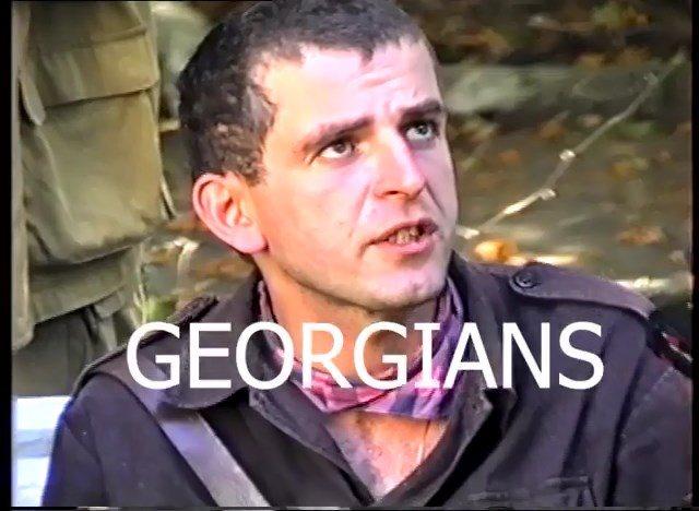 გიზო გოგრიჭიანი,  გაგრა 1992 წლის სექტემბერი, საინჟინრო ბატალიონი. (ვიდეო)